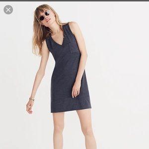 Madewell V Pocket Tank Dress